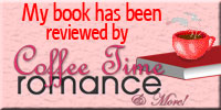 My Book has been reviewed by Coffee Time Romance